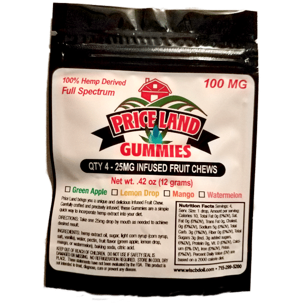 4pk cbd infused gummies