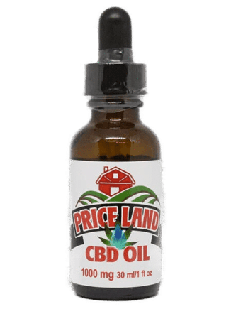 cbd oil 1000mg natural single bottle
