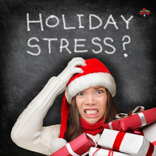 cbd helps with holiday stress