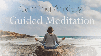 calming anxiety guided meditation and cbd oil