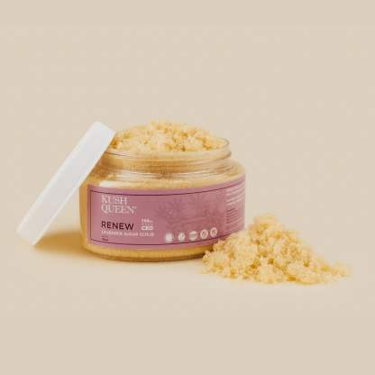 Kush Queen Renew-Sugar Scrub 16oz