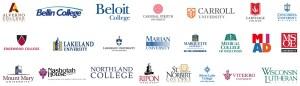 WAICU-member logos