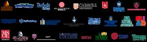WAICU-member college logos