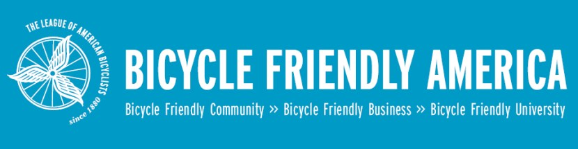 League of American Bicyclists Bicycle Friendly America banner