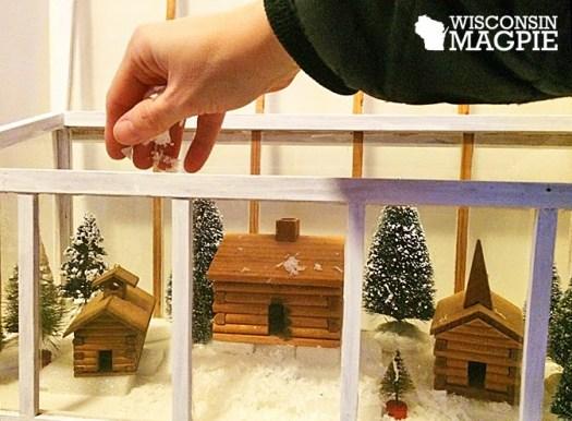winter diorama