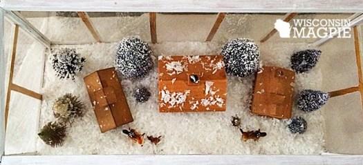 miniature cabins
