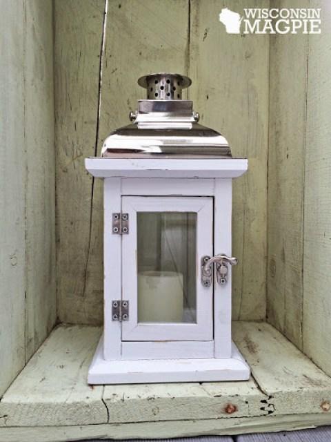 Pottery Barn lantern