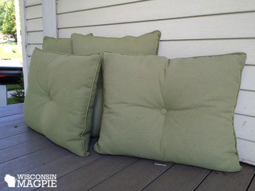 patio cushion pillows
