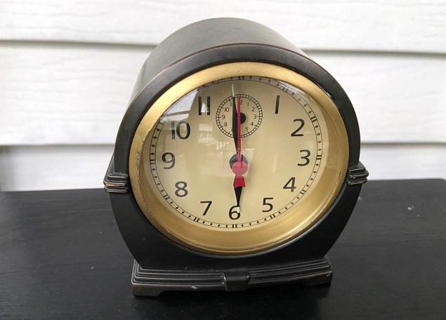 Pottery Barn reproduction clock