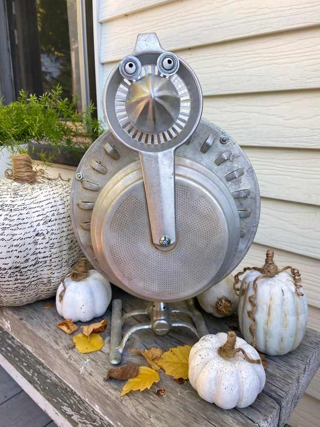Repurposed junk turkey