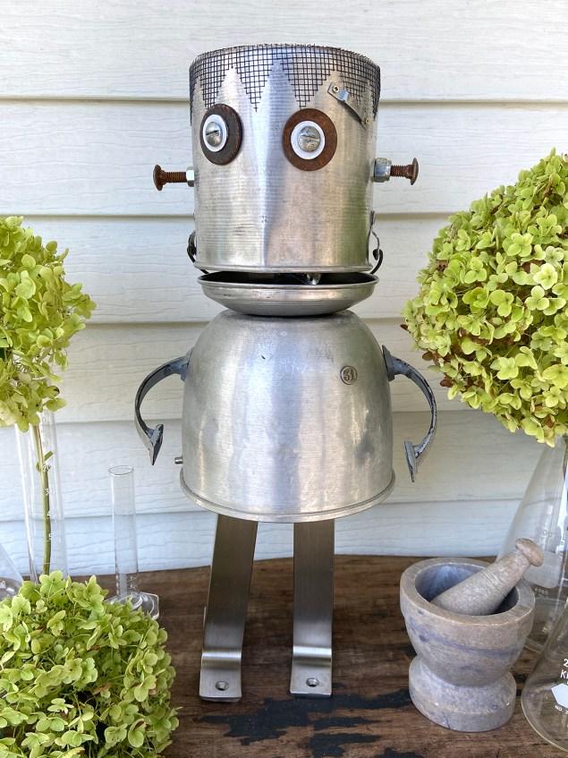 Robot Frankenstein assemblage