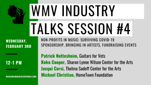 WMV Industry Talks Session #4 @ Online (Via Zoom)