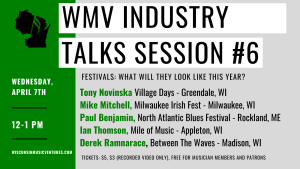WMV Industry Talks Session #6 @ Online (Via Zoom)