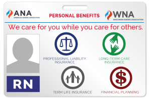 ANA and WNA Benefits Logo