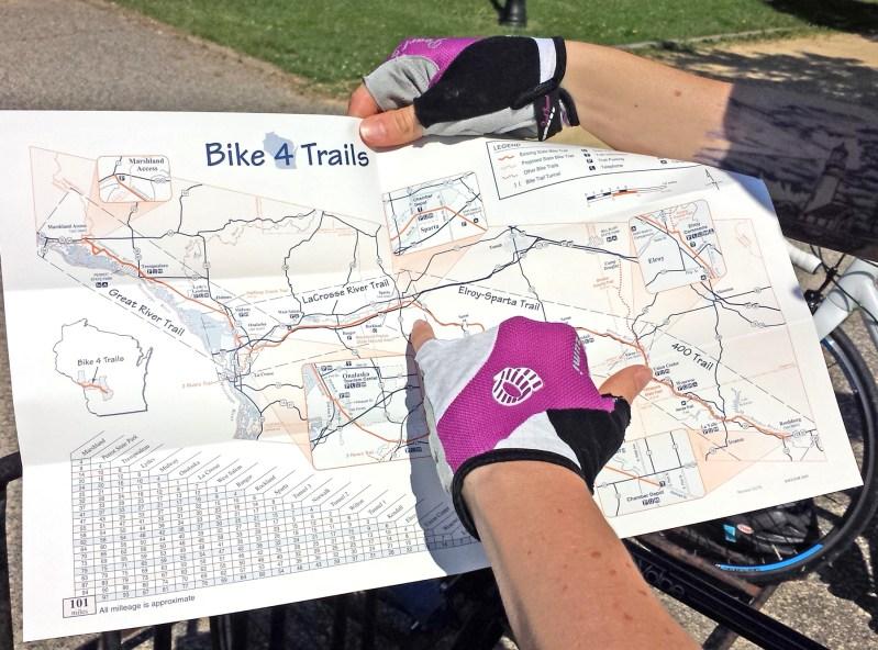Elroy-Trail-Map