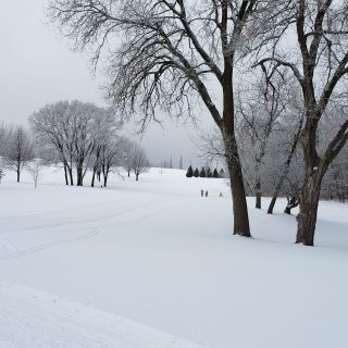 Pleasant View Golf Course Ski Trails, Middleton, WI