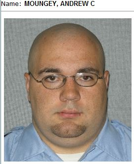 Correctional officer Andrew Moungey is also frequently mentioned in allegations of inmate abuse.