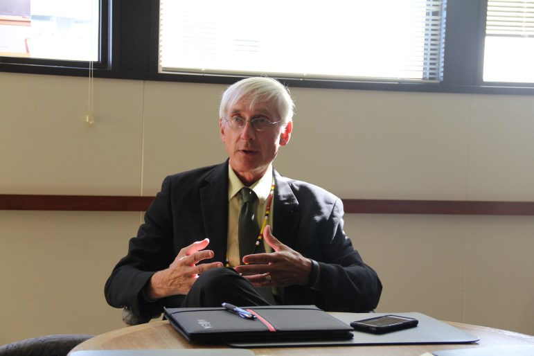 """State Superintendent of Public Instruction Tony Evers, Wisconsin's top education official since 2009, describes the state's racial achievement gap as """"extraordinarily horrible."""""""