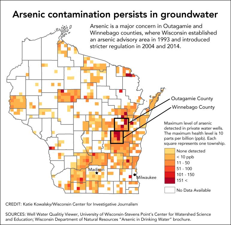 Arsenic map UPDATE