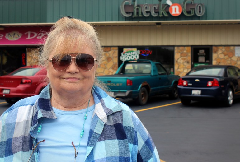 The Check 'n Go store where Michelle Warne took out loans is about three blocks from her house in Green Bay. According to the Wisconsin Department of Financial Institutions, there were 93,740 payday loans made in 2015 — a sharp drop from previous years. State lawmakers changed the definition of payday loans in 2011.
