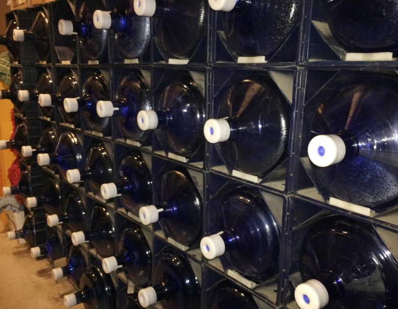 Riverside Elementary School east of Wausau spends an estimated $1,000 a month on bottled water for drinking to safeguard students from lead. After lead pipes were found buried in its foundation, school officials took out drinking fountains and installed a filtration system.