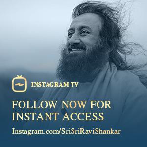 Gurudev's Instagram