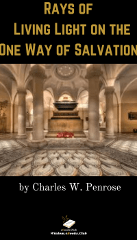 Rays of Living Light on the One Way of Salvation
