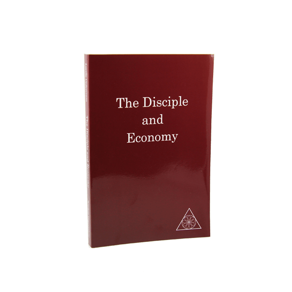The Disciple and Economy by Lucille Cedercrans