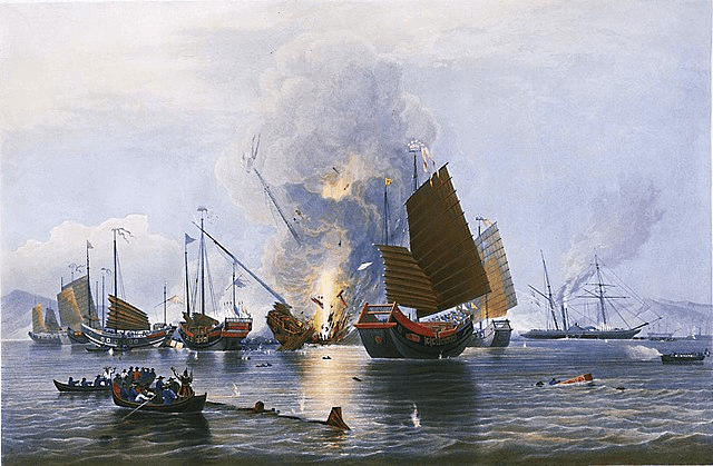 Opium Wars of the Qing Dynasty