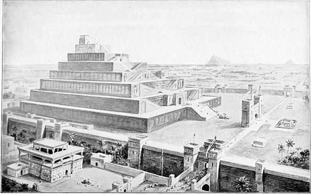 architecture of Babylonia