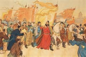 decline of the Tang dynasty