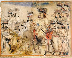 society in the Mongol empire