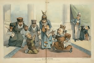 power in the Qing dynasty