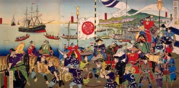 the West meets Japan