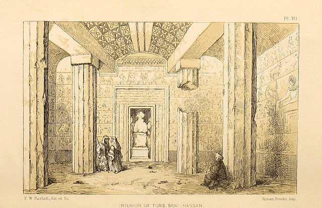 sources of ancient Greek architecture: Egypt