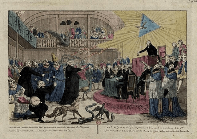 digital history of the French Revolution | role of the American Revolution