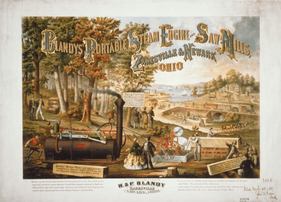 digital history of the Industrial Revolution | culture