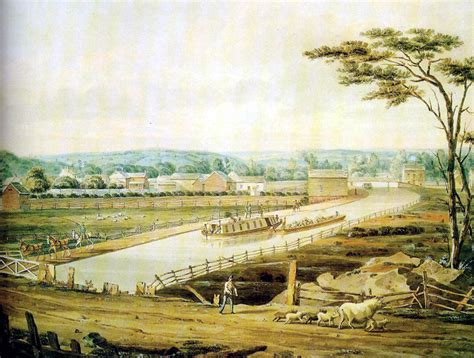 digital history of America 1815-1830 | canals