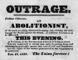 abolitionaism | factions