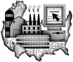 digital history of America 1973-2000   economy