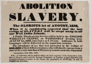 end of the slave trade
