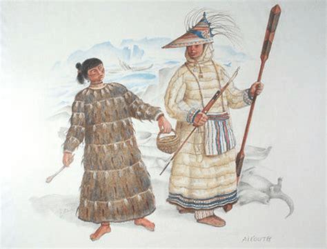 Amerindians: Aleut and Inuit