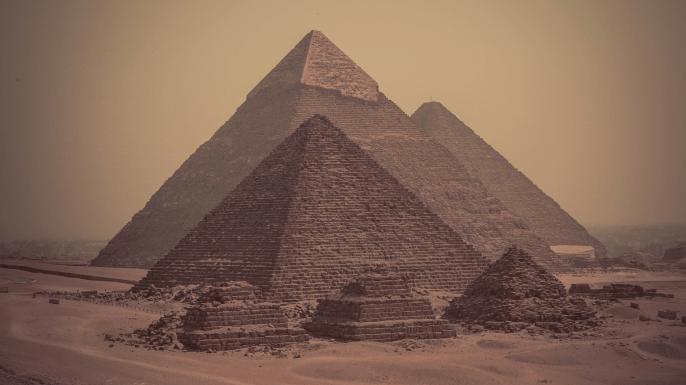 digital history of Ancient Egypt | pyramids