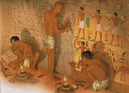 artists in ancient Egypt