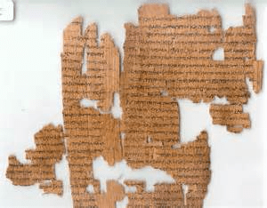 literature of ancient Egypt | fragments