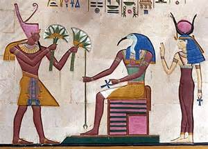 digital history of Ancient Egypt | main gods