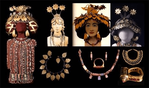 digital history of the Near East | adornment