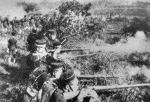 Japan war with China