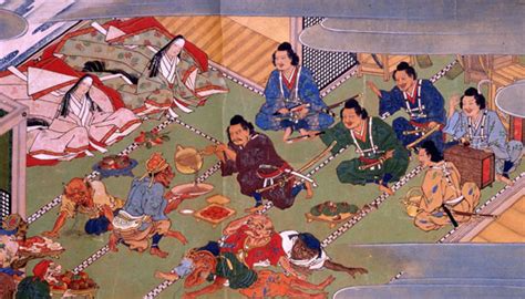 class in Muromachi Japan