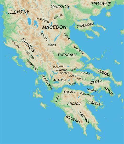 digital history of society in Greece | regions